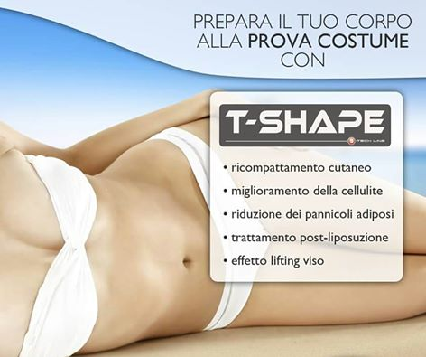 T-Shape prepara il tuo corpo all prova costume